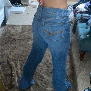 Wrangler boot cut jeans